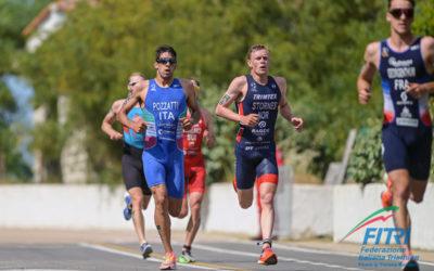 707 Triathlon: Pozzati in Nazionale alle Olimpiadi di Tokyo